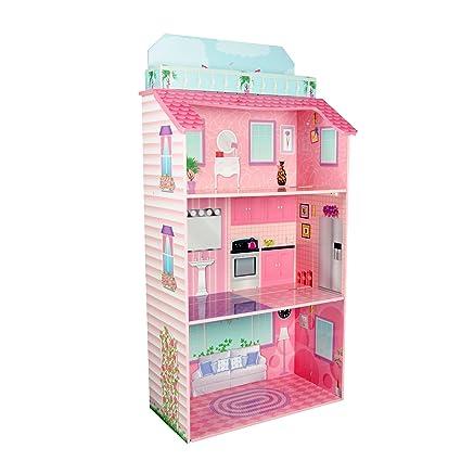 Teamson Kids - TD-11919A - Maison à Poupée en Bois