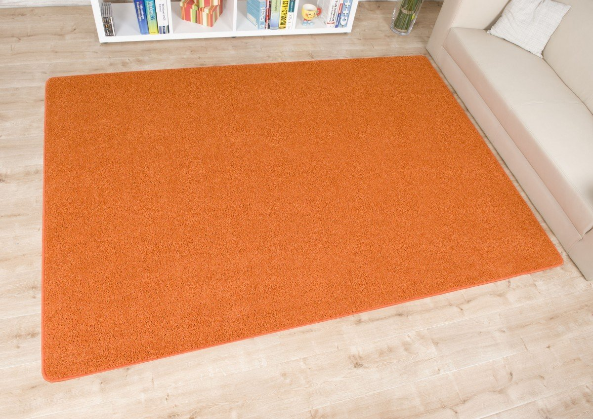 Hochflor Teppich Fontana orange, Größe Auswählen140 x 200 cm    Kritiken und weitere Informationen