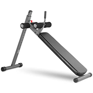XMark 12 Position Ergonomic Adjustable Ab Bench