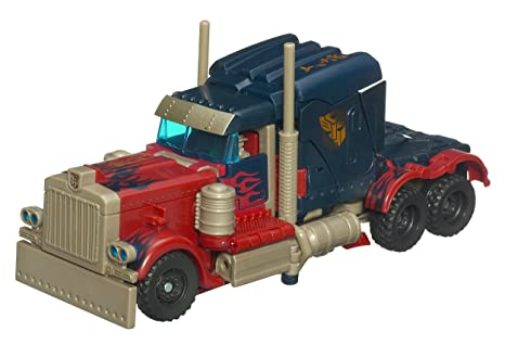 Hasbro - 89165 - Transformers Optimus Prime Autobot Voyager Class Figurine - Revenge of the Fallen