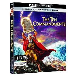 The Ten Commandments [4K Ultra HD + Blu-ray]