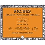 Arches Watercolor Paper Block, Rough, 11