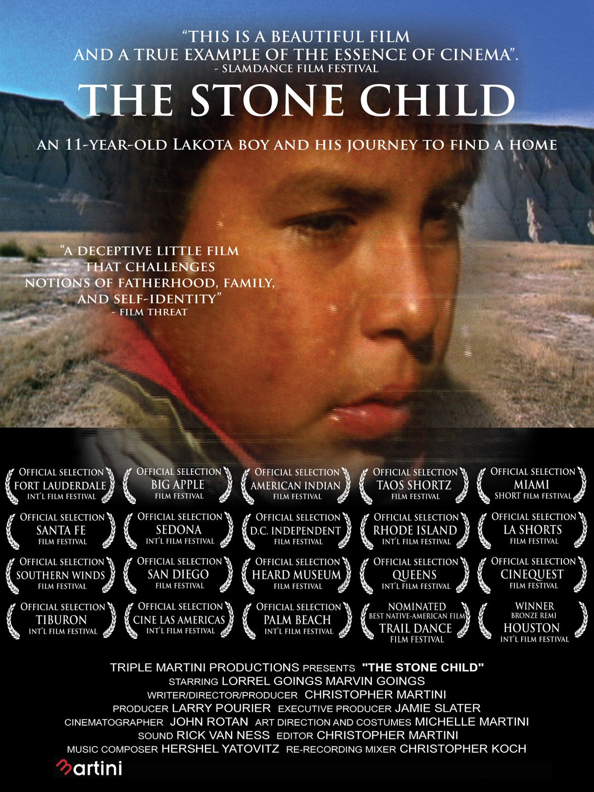 The Stone Child on Amazon Prime Instant Video UK