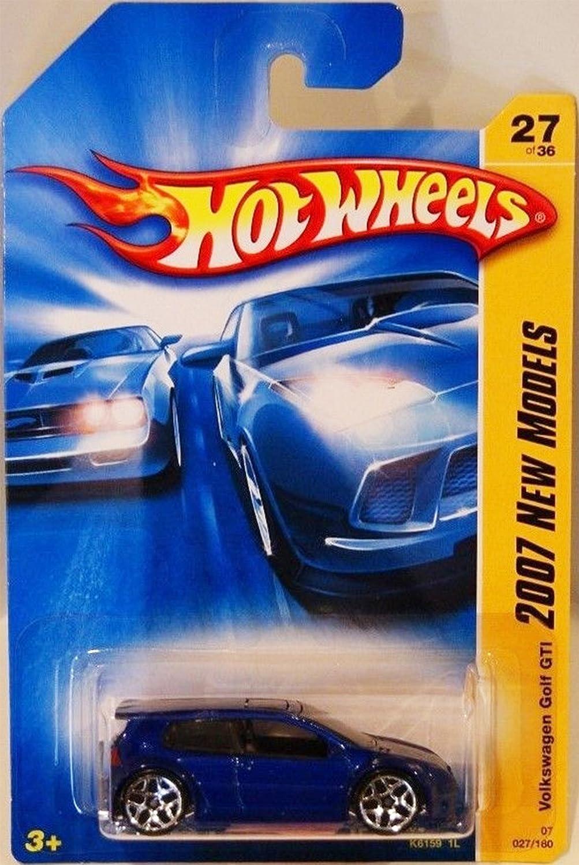 Volkswagen Golf GTI Blue Hot Wheels (2007 First Editions)
