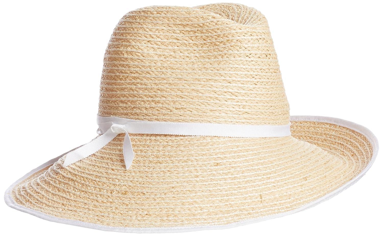 (ローラハット)Lola HATS(ローラハット) Guest House Hat 7895 Natural/WHITE 58.5cm : 服&ファッション小物通販 | Amazon.co.jp