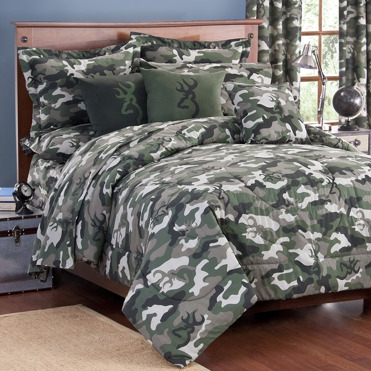 Military camouflage bedding totally kids totally for Camouflage bedroom ideas for kids