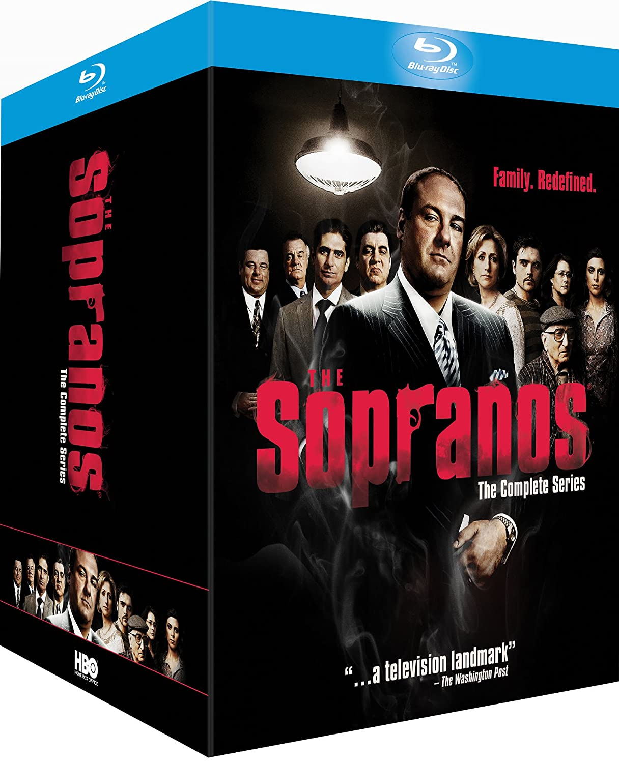 review the sopranos complete series bluray collection