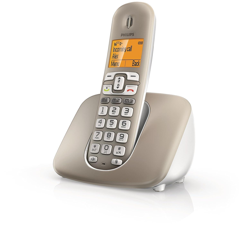 T�l�phone fixe PHILIPS XL3901S GRIS SOLO SANS  REPONDEUR