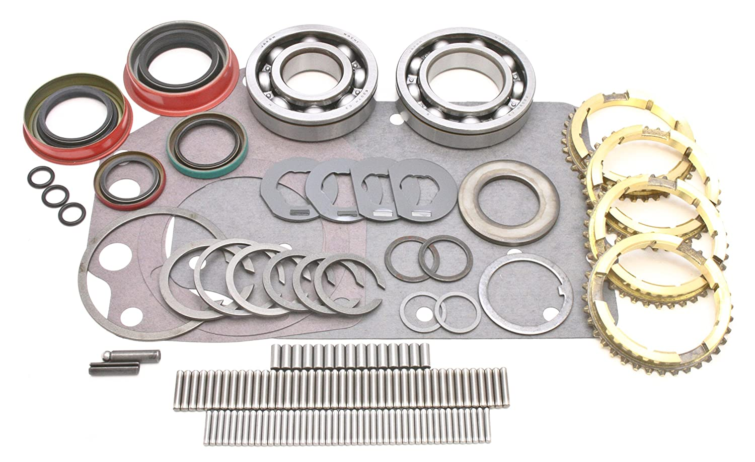 Transparts Warehouse BK135WS Ford Toploader Transmission Rebuild Kit with Rings