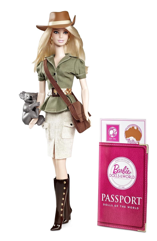 Mattel Barbie W3321 – Collector Dolls of the World Australien, Sammlerpuppe günstig bestellen