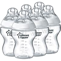 6-Pack Tommee Tippee Closer to Nature Feeding Bottles