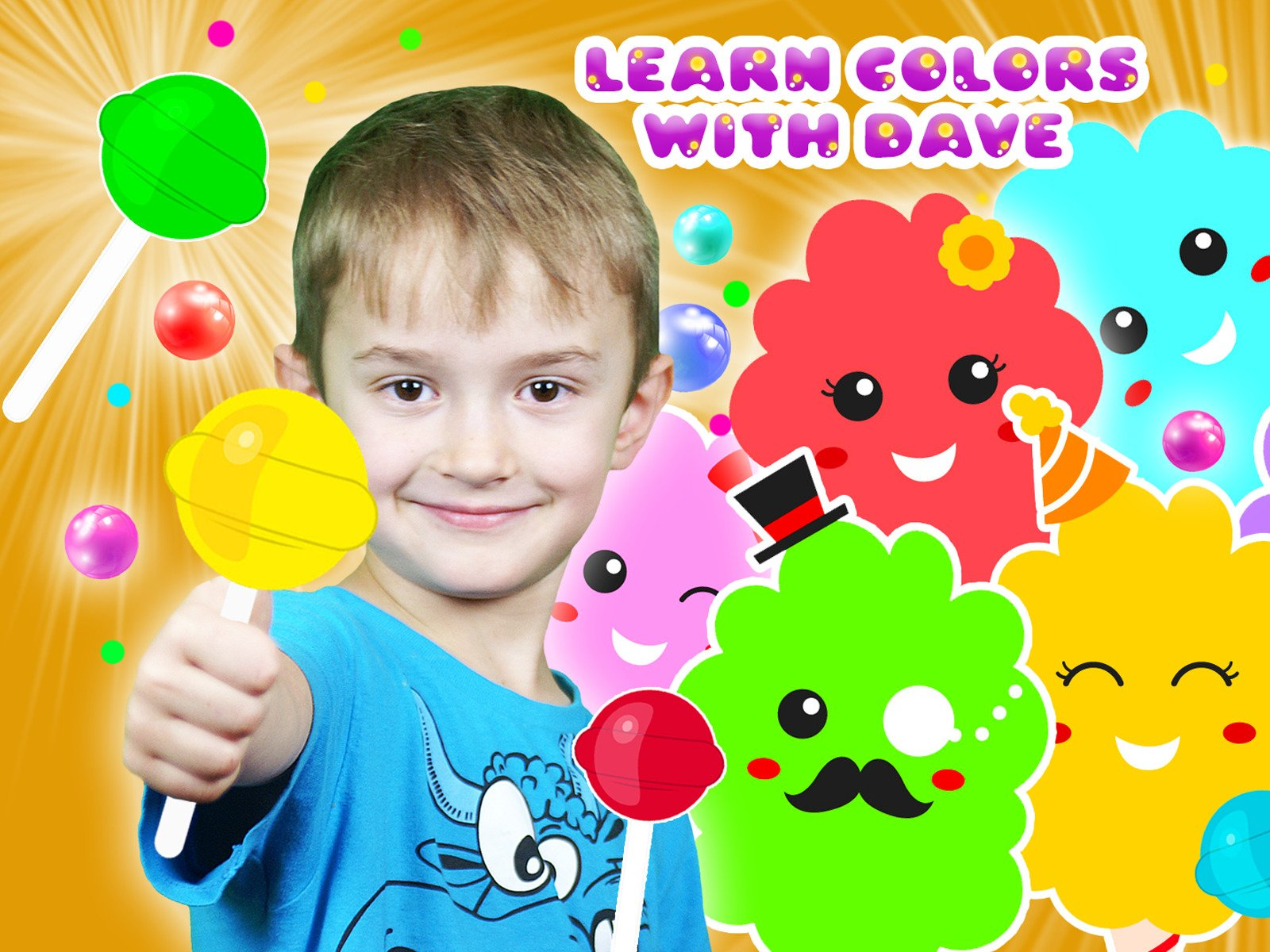 Learn Colors with Dave - Season 1