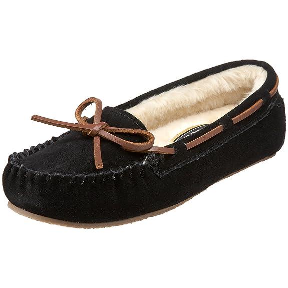 塔玛拉克Tamarac Camper Moccasin毛毛船 家居鞋$25.11