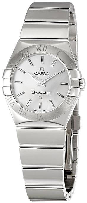 Omega欧米茄 123.10.27.60.02.002 女士银色表盘瑞士石英腕表 特价,989.25 - 第1张  | 淘她喜欢
