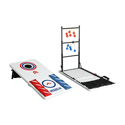 Lifetime Bean Bag Toss/Ladder Toss/Folding Tailgate Table Combo