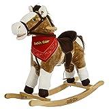 Rockin' Rider Henley Rocking Horse Toy (Color: Brown)