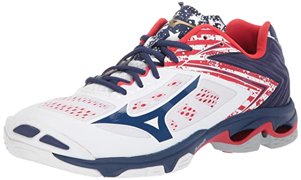 mizuno volleyball shoes stars and stripes