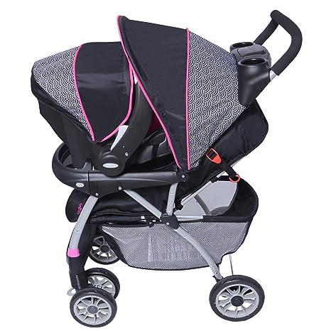 evenflo journey 300 stroller embrace 35 car seat travel system pink party new ebay. Black Bedroom Furniture Sets. Home Design Ideas