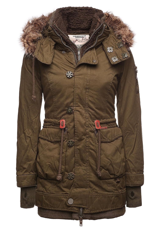 khujo Damen Jacke ALISA WITH INNER JACKET 1070JK153J_320 kaufen