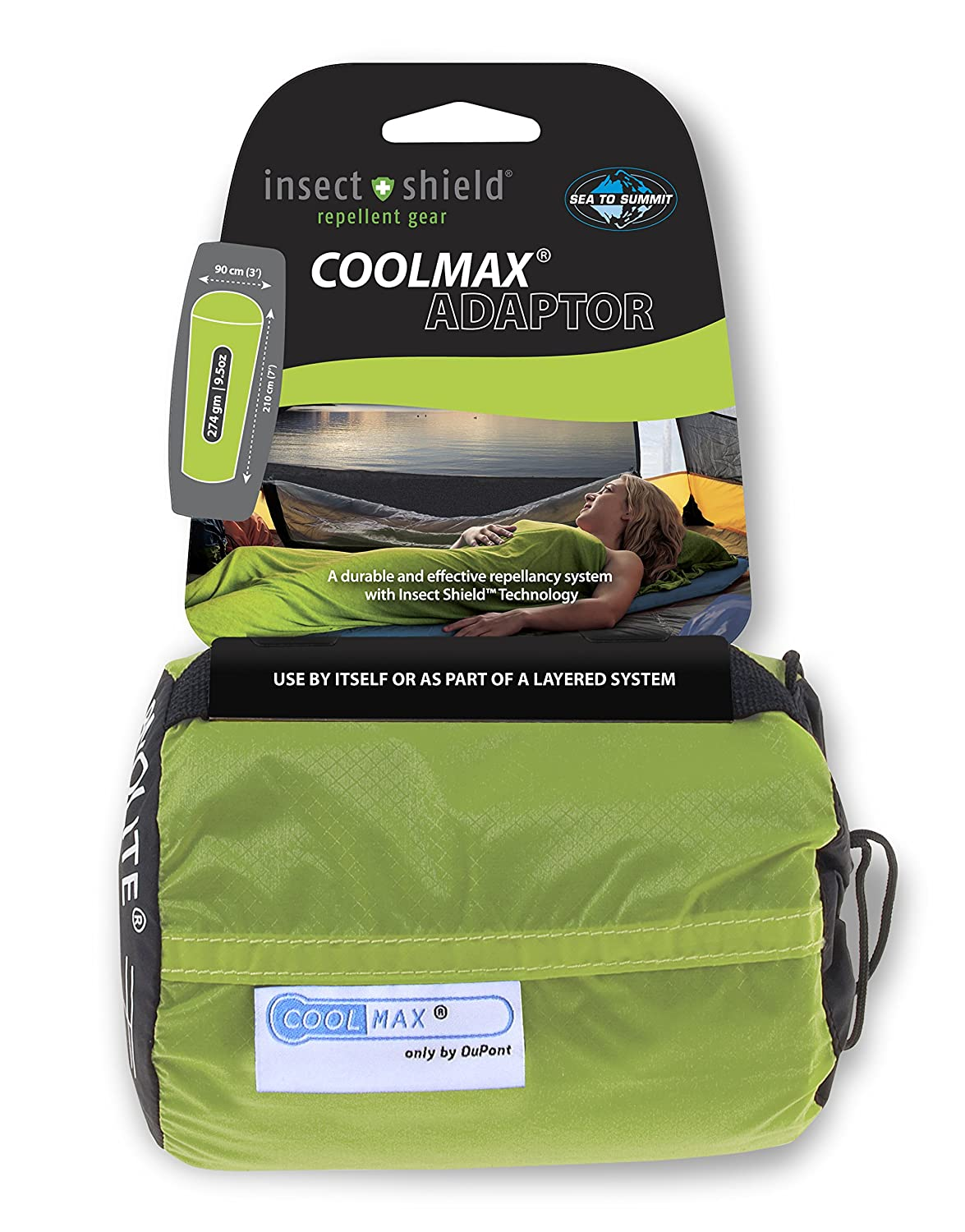 Sea to Summit Insect Shield CoolMax® Adapter bag liner