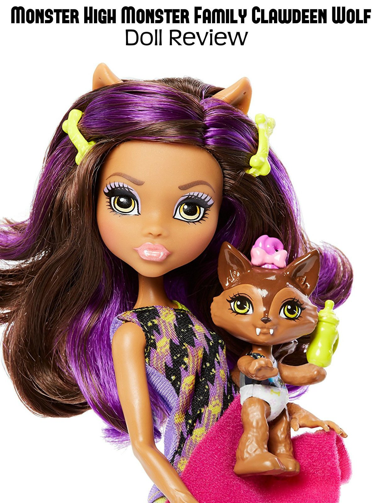 Review: Monster High Monster Family Clawdeen Wolf Doll Review