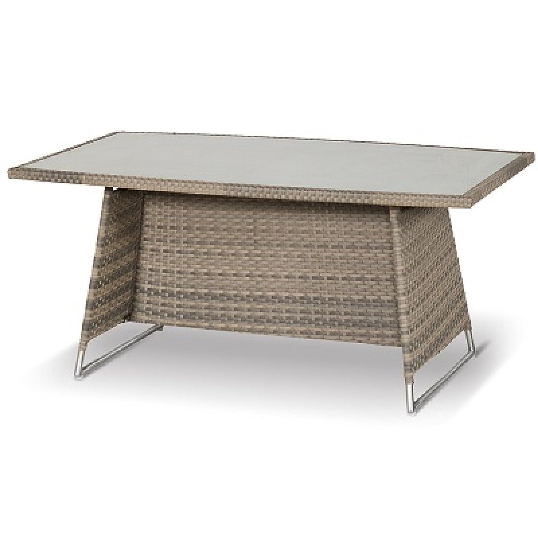 Hartman Montego Tisch 160 x 90 cm Polyrattan/Spraystone 22604133