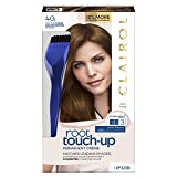 Clairol Nice 'n Easy Root Touch-Up 4G Kit (Pack of 2), Matches Dark Golden Brown Shades of Hair Coloring, Superior Grey Coverage (PACKAGING MAY VARY) (Color: 4G Dark Golden Brown, Tamaño: Pack of 2)