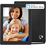 Nixplay Seed 10 Inch WiFi Cloud Digital Photo Frame with IPS Display, iPhone & Android App, Free 10GB Online Storage and Motion Sensor (Black) (Color: Black, Tamaño: 10 Inch)