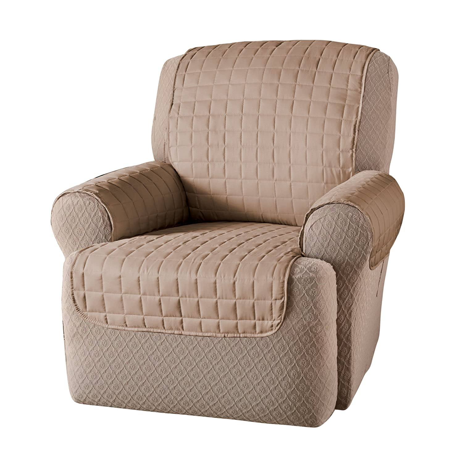 Recliner protector polyester chair furniture cover for Kids recliner chair