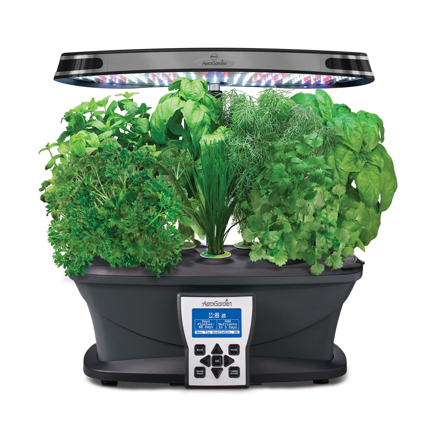 Miracle-Gro AeroGarden Ultra LED Indoor Garden w/Gourmet Herb Seed Kit