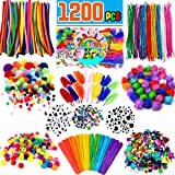 FunzBo Arts and Crafts Supplies for Kids - Craft Art Supply Kit for Toddlers Age 4 5 6 7 8 9 - All in One D.I.Y. Crafting Collage Arts Set for Kids (X-Large) (Tamaño: X-Large)