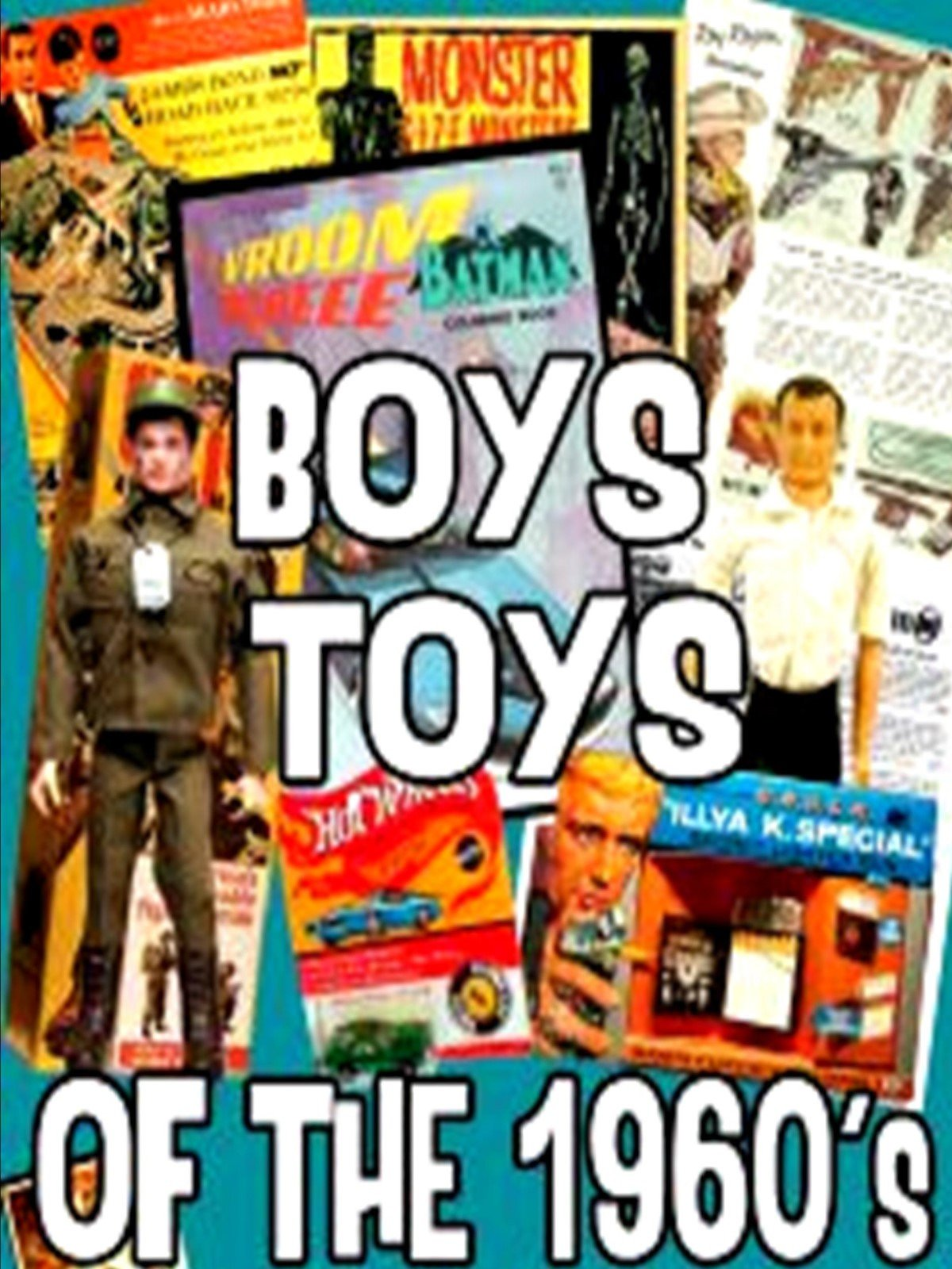 Boys Toys of the 1960's