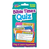 Bible Times Quiz Challenge Cards (Color: Multi)