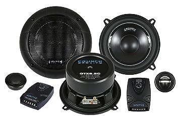 Crunch GTX 5.2C 13cm Komponenten-Lautsprechersystem