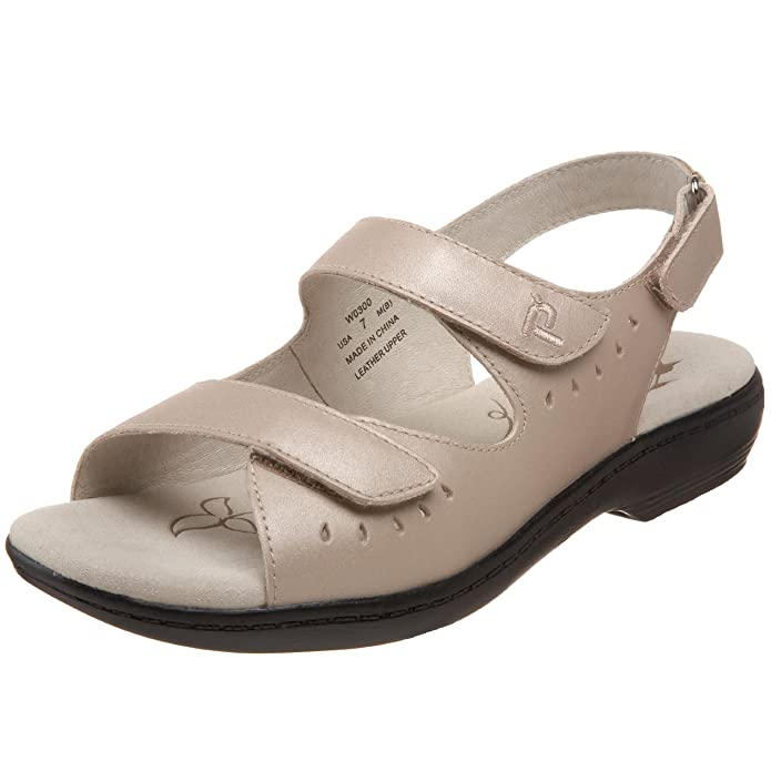 Propet Women's W0300 Trinidad Sandal,Sandstone,13 W US