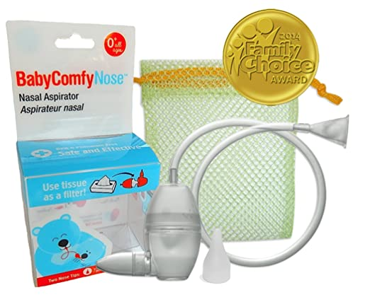 Baby ComfyNose Nasal Aspirator Crystal, Clear