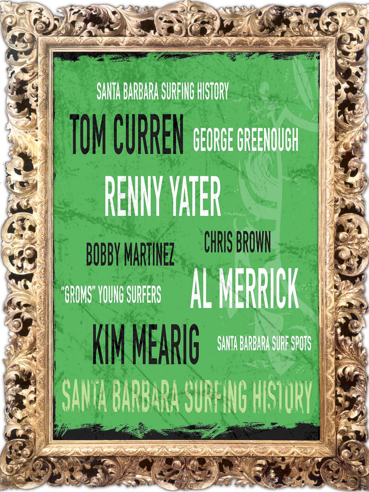 Santa Barbara Surfing History on Amazon Prime Video UK