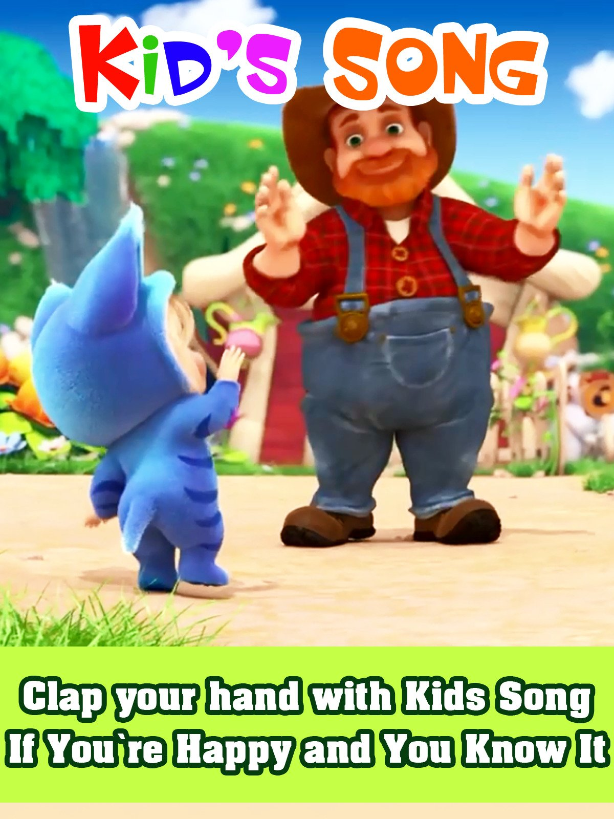 Clap your hand with Kids Song
