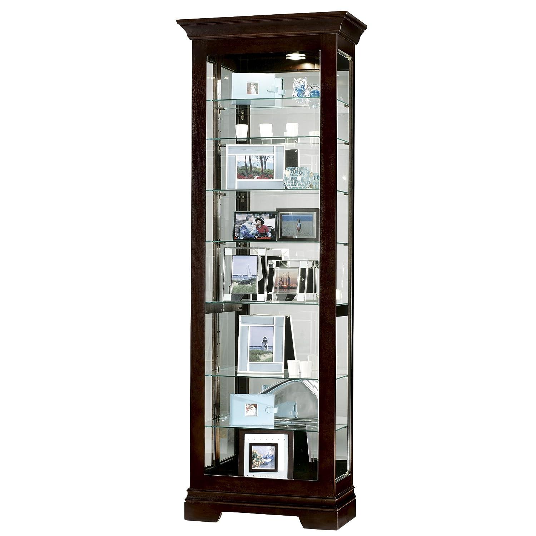 Ikea Drawers Gumtree Glasgow ~ Corner Curio Cabinet Arched Top Golden Oak Finish
