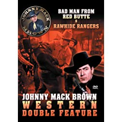 Johnny Mack Brown: Western Collection Vol 1 Bad Man Of Red Butte & Rawhide Rangers