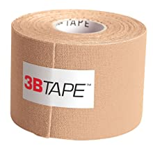 "3B Scientific Beige Cotton Rayon Fiber Kinesiology Tape, 16' Length x 2"" Width"