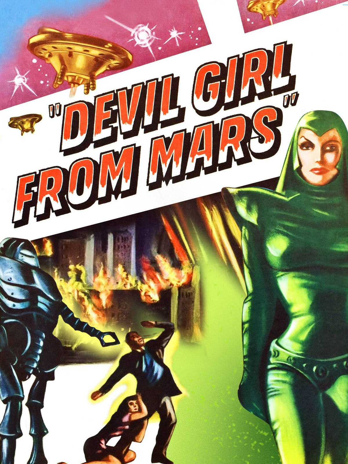 Devil Girl From Mars on Amazon Prime Video UK