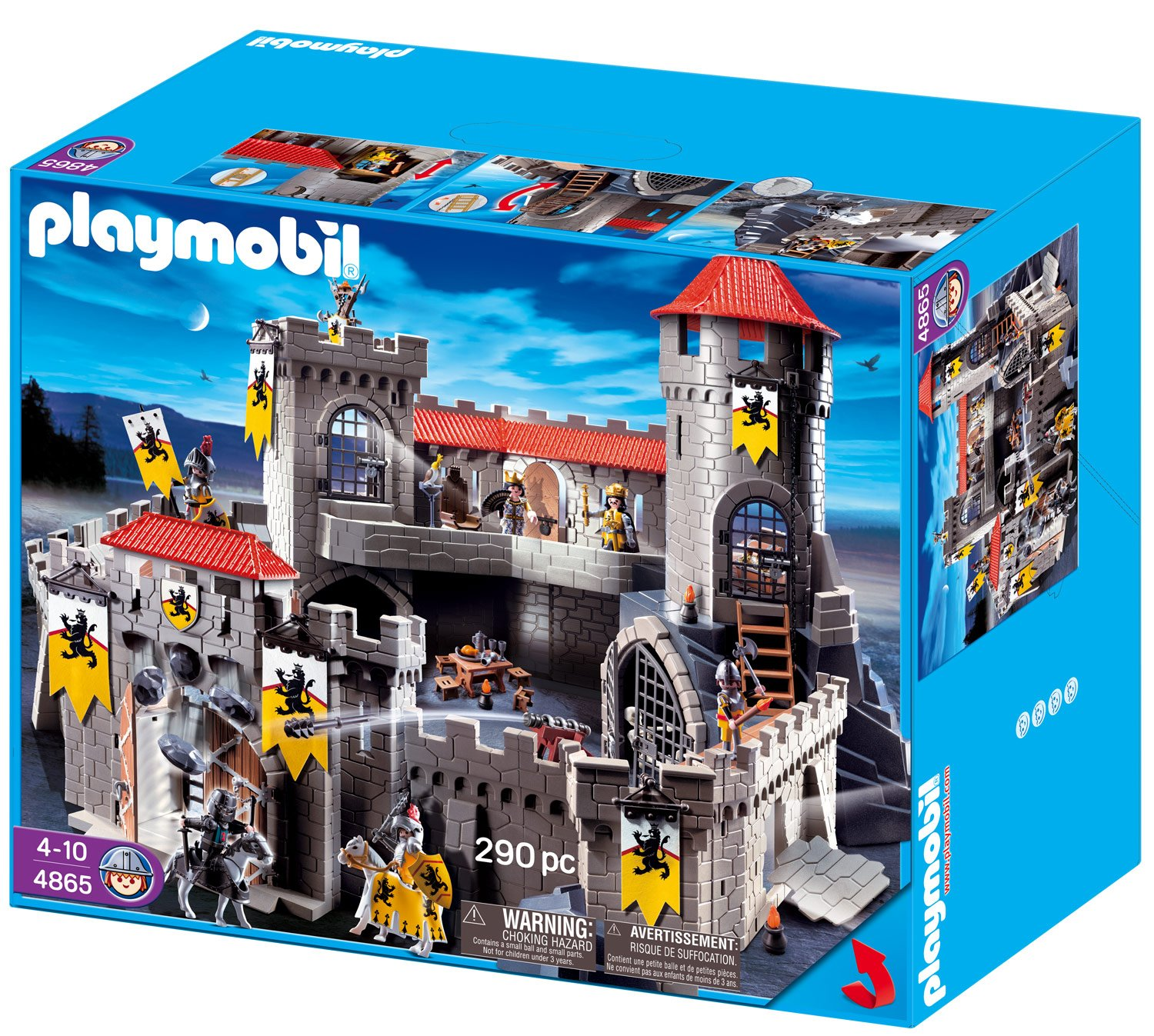 playmobil gro e l wenritterburg 4865 preisvergleich. Black Bedroom Furniture Sets. Home Design Ideas