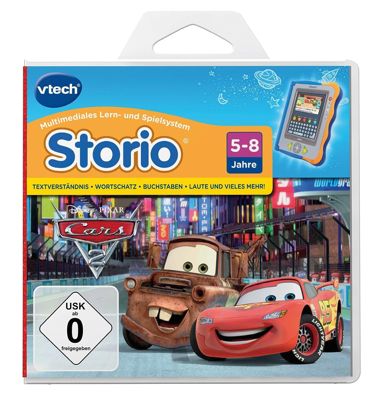 VTech 80-281904 – Lernspiel Cars 2 (Storio, Storio 2, Storio 3S) als Geschenk
