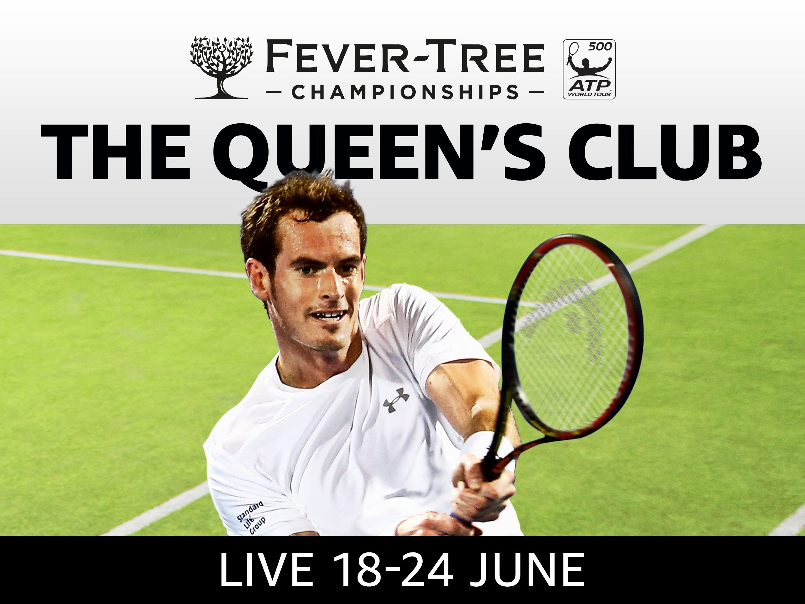 2018 Fever-Tree Championships at The Queen's Club, ATP 500 Event - 2018