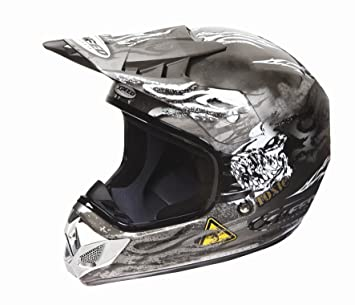 Xpeed 50061104 Casque XF 904 Toxic MC57 taille M (Charbon)