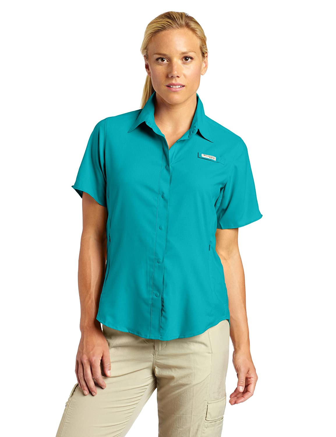 Columbia Women's Tamiami II Short-Sleeve Shirt columbia field master ii ca007 430