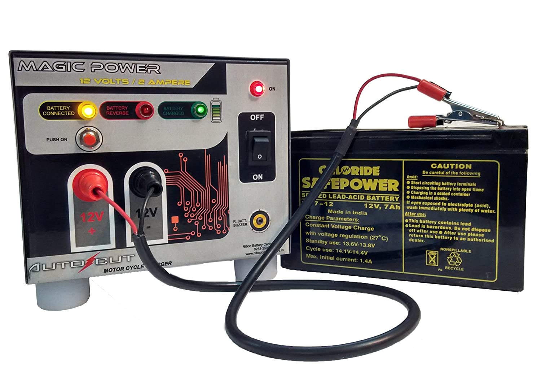 single wheeler battery charger volt ampere in single 2 wheeler battery charger 12volt 2ampere in electronics