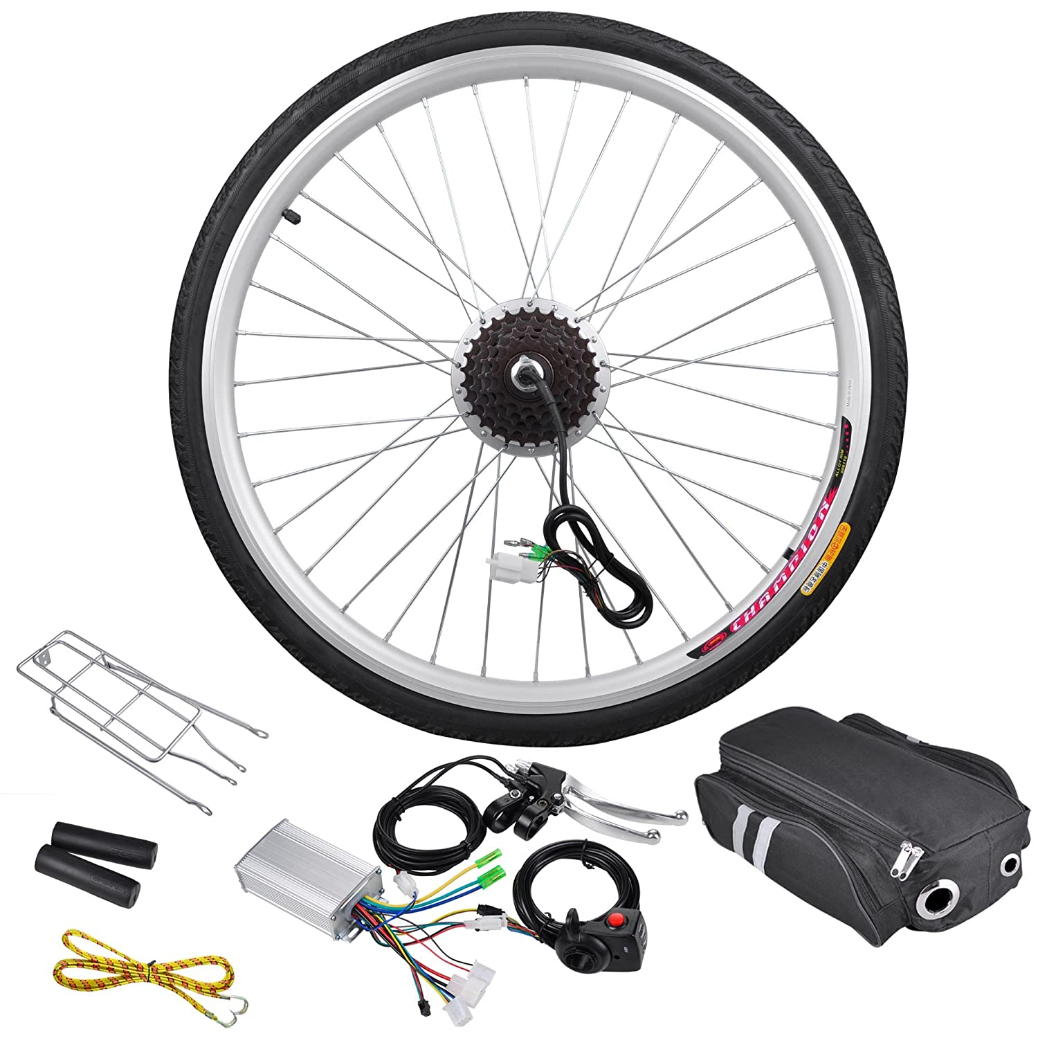 36V250W 26 Front/Rear Wheel Electric Bicycle Small Motor Cycling Conversion Kit 4mm 7x19 grade 304 high tensile structure core stainless steel wire rope cable wick high quality wick diy