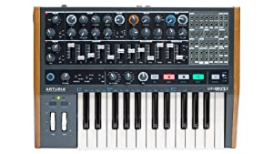 Arturia Minibrute 2 Synthesizer Bundle with 2x Hosa CMM-845 18-inch CV Patch Cable 8-Packs (3 Items)